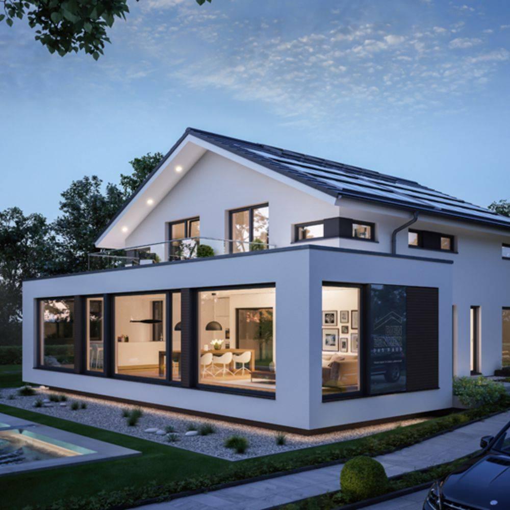 musterhaus g nzburg von bien zenker erh lt nachhaltigkeitszertifikat by bien zenker homify. Black Bedroom Furniture Sets. Home Design Ideas
