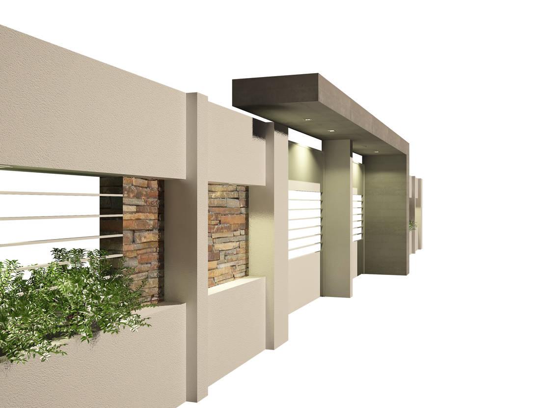 Muros y fachadas de casas modernas 8 ideas para que for Frentes de casas minimalistas fotos
