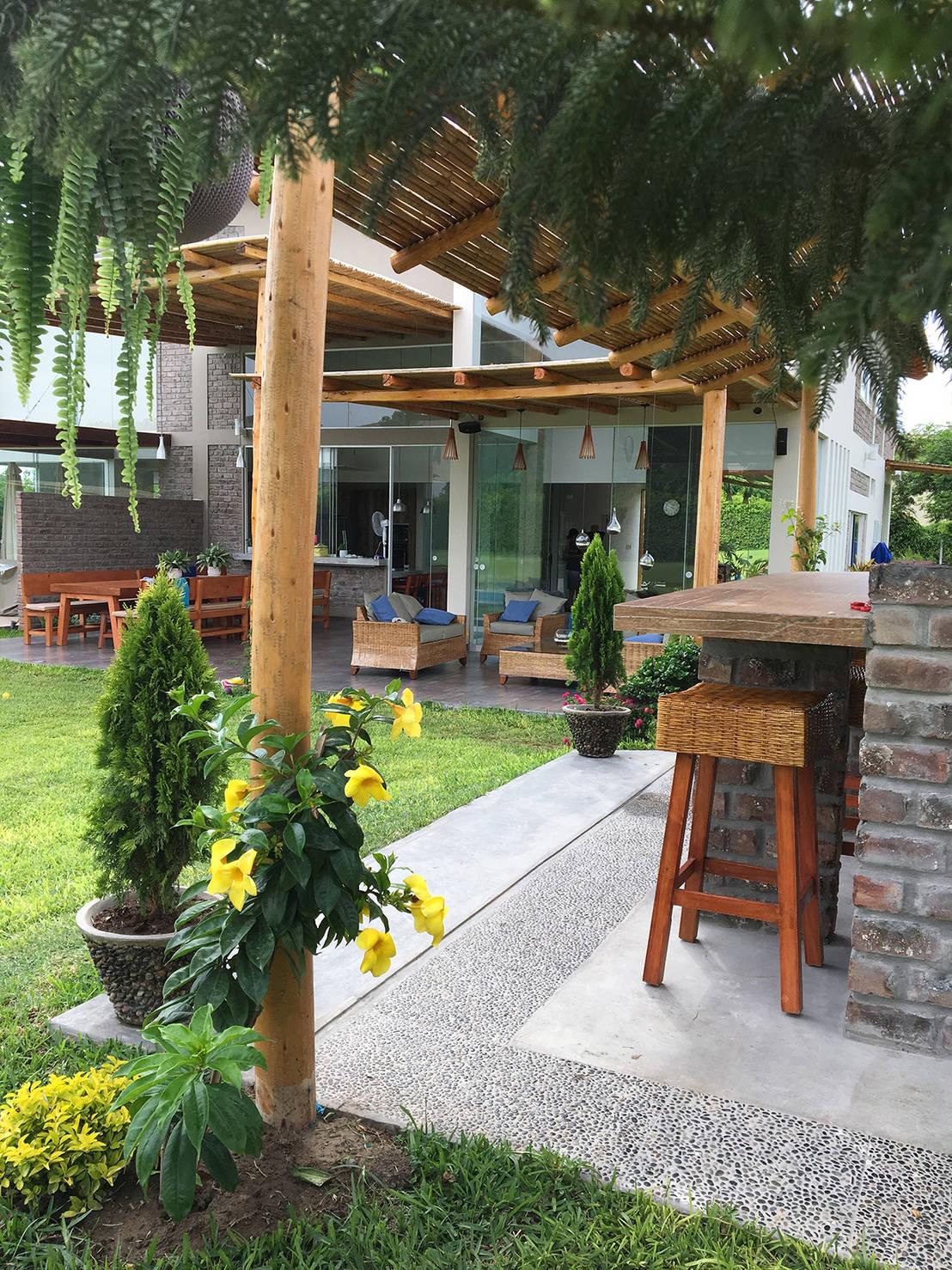 Una casa de campo para so ar by malu goni homify for Homify casas de campo