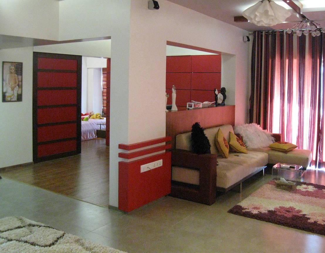 A 780sqft Stylish Apartment In Mumbai