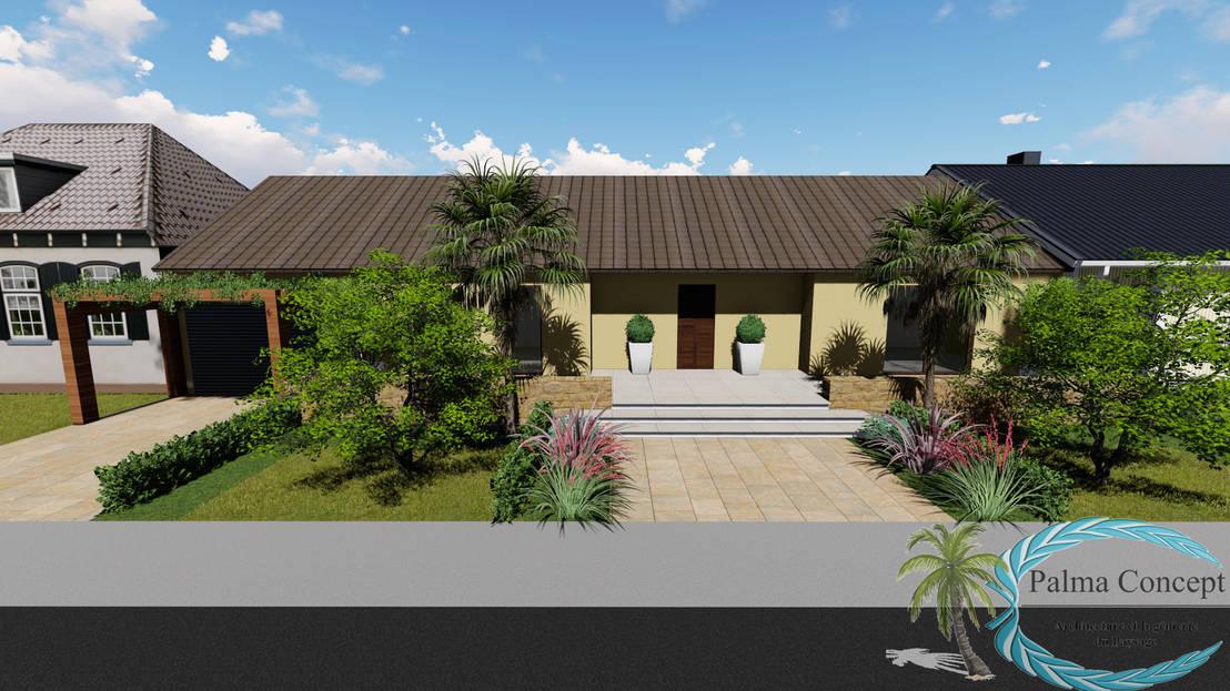 jardin contemporain serris france by palma concept. Black Bedroom Furniture Sets. Home Design Ideas