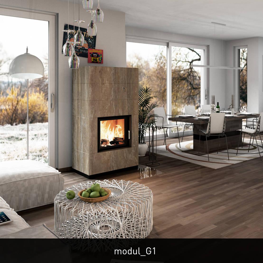 monolith modul - DER HEIZKAMIN von CB stone-tec GmbH   homify
