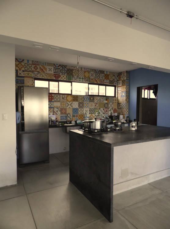 Sala Com Cozinha Integrada Por Claud Pessoa Arquitetura E