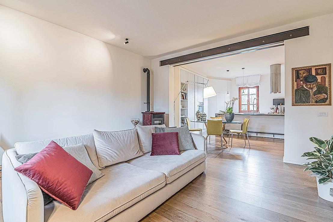 Una casa fresca e moderna per una giovane coppia - Accessori per casa moderna ...