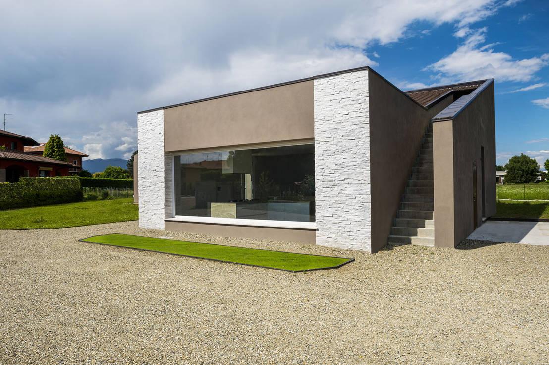 Bianco essenziale scaglia bianca il rivestimento giusto per una casa moderna di b b - Accessori per casa moderna ...
