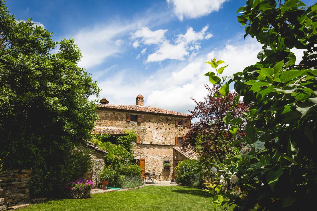 La casa monastero di architetto de grandi homify for Grandi piani di casa ranch