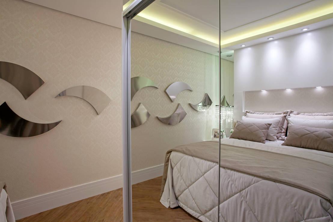 Como aumentar (visualmente) quartos pequenos