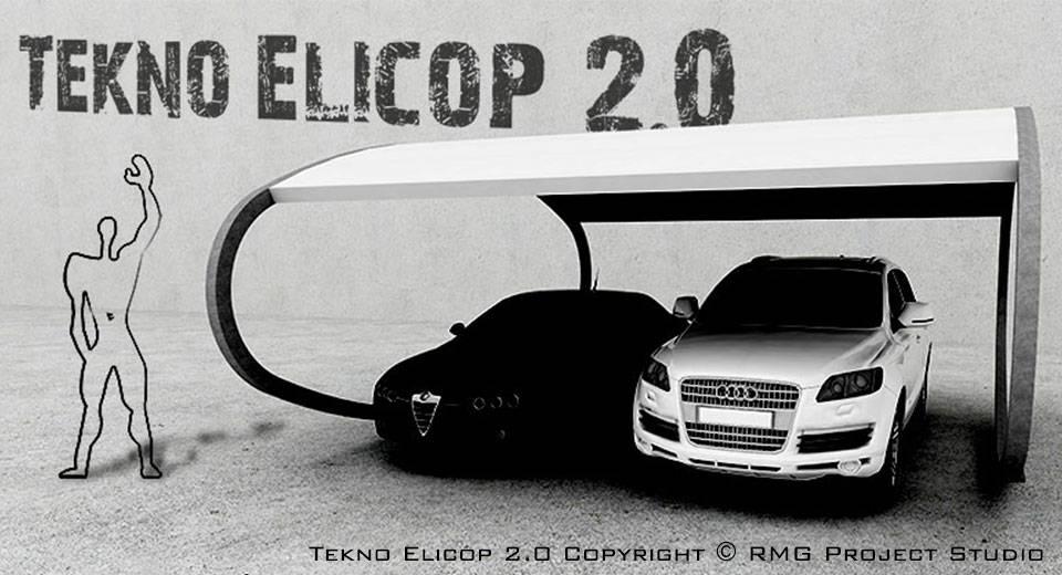Tekno elicop 2 0 tettoia copertura per auto e giardino for Auto p garage roussillon