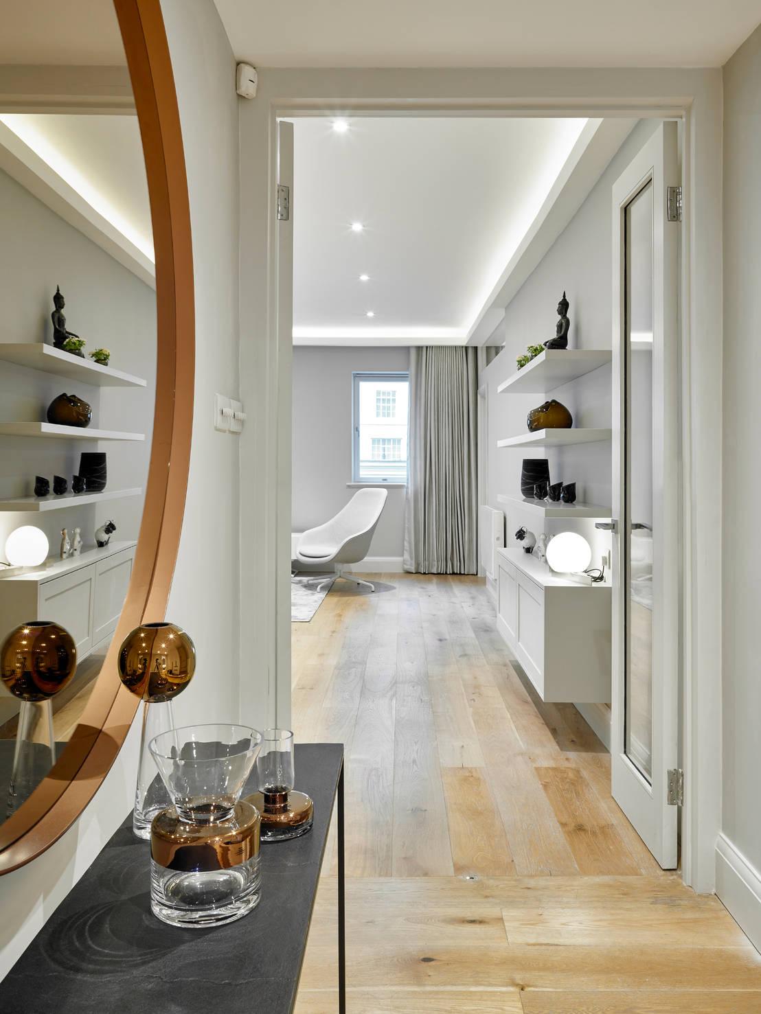Un appartamento raffinato moderno e funzionale for Appartamento moderno