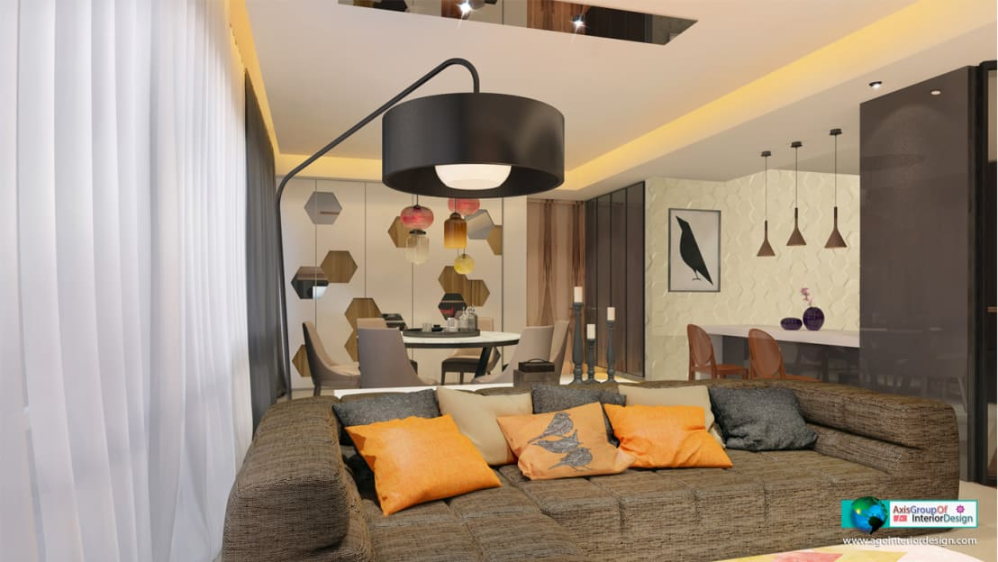 Mr Anurag 3bhk Apartment Interiors By Axis Group Of Interior Design Homify