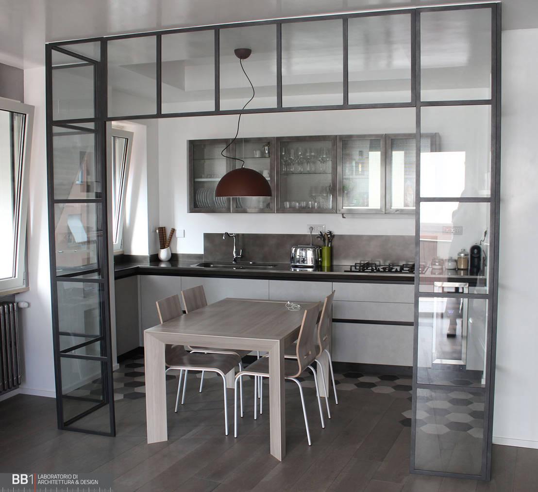 Appartamento 60 mq de bb1 laboratorio di architettura for Appartamento 60 mq design