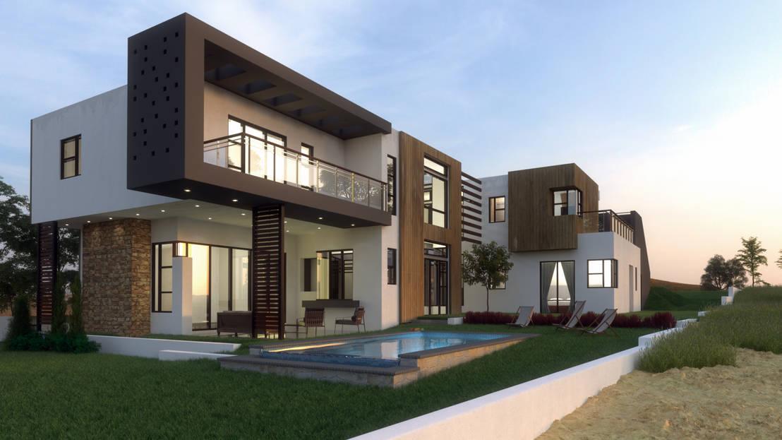 House elton hill de metako projex homify for Pics of modern houses