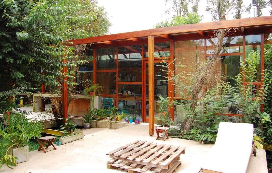Casa viva de wabi sabi arquitectura homify for Reloj cocina casa viva