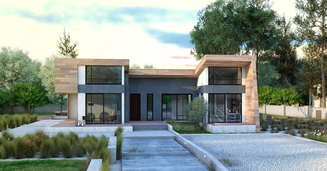 ein fertighaus f r jeden geschmack unter und. Black Bedroom Furniture Sets. Home Design Ideas