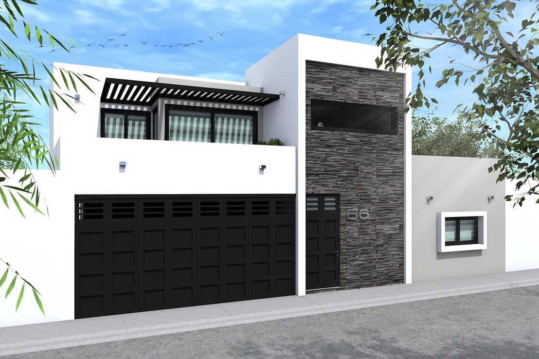 20 fachadas para que te inspires a dise ar tu casa ya - Disenar tu casa ...