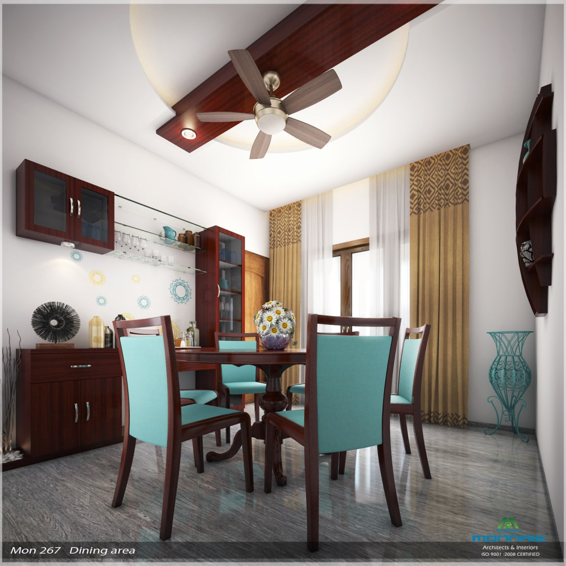 Dining Room Decoration Ideas And Design Inspiration: Imposing Design... By Premdas Krishna