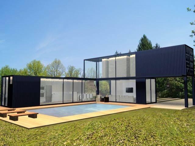 Projeto casa container por priscilla borges arquitetura - Container casa precio ...