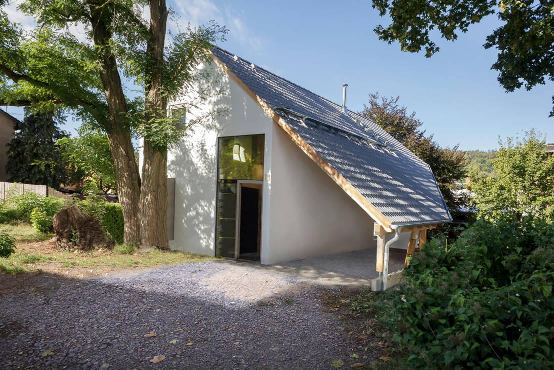 Einfamilienhaus sch ne aussicht von planungsgruppe korb for Korb architekten