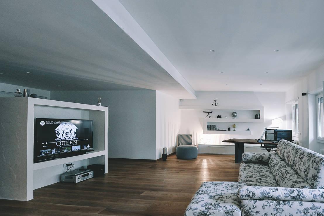 Ristrutturazione completa appartamento a Roma by piano a  homify