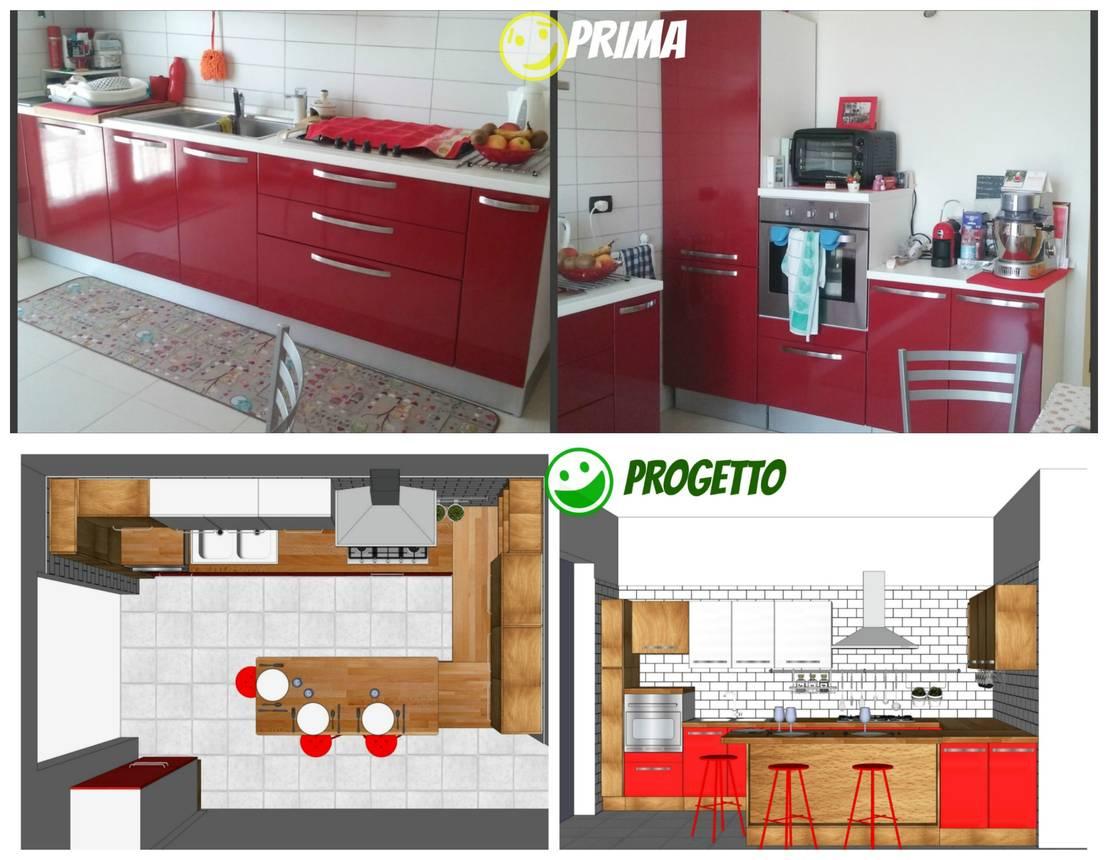 Una reforma de cocina tan sencilla que te dejara sorprendido - Rinnovare mobili cucina ...