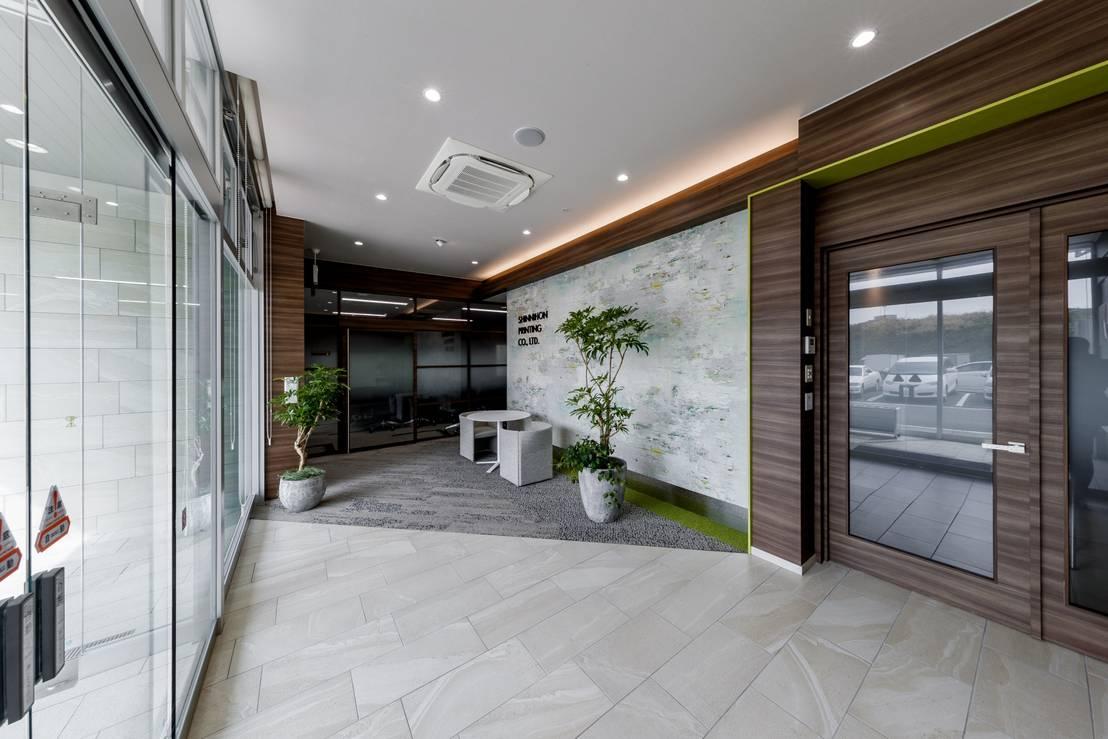 株式会社Juju INTERIOR DESIGNSが手掛けた「自然がエネルギー」office U201dつながるu201dがキーワード | Homify
