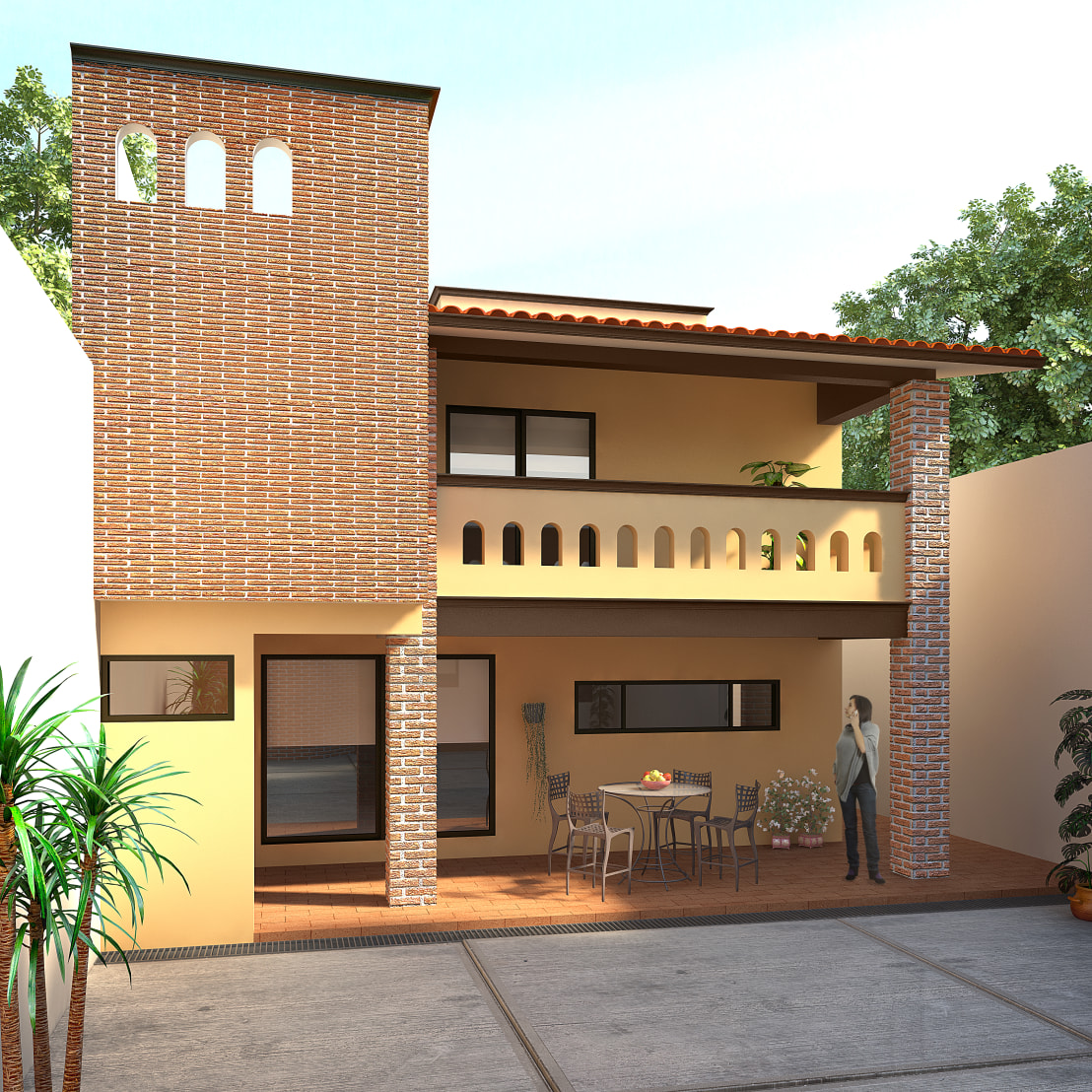 Dise os de casas de dos pisos con ideas para inspirarte for Disenos de pisos para casas