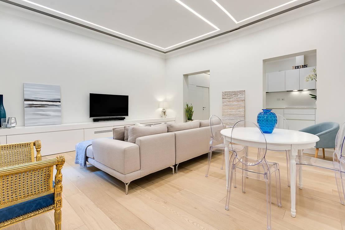 Staff De Maison : Le meraviglie dello stile minimalista in appartamenti