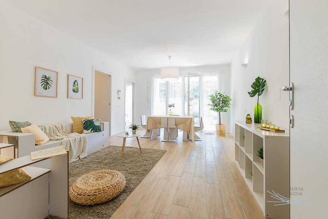 appartamento campione in cantiere di rho mi di home staging dintorni homify. Black Bedroom Furniture Sets. Home Design Ideas