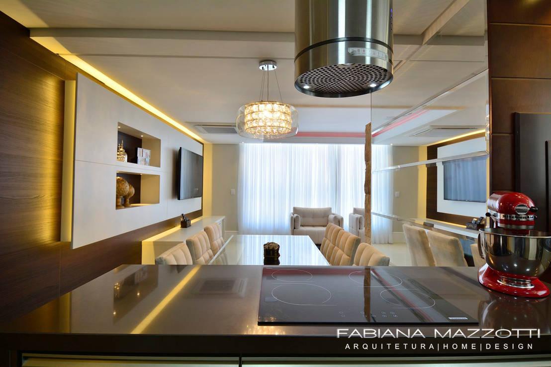 Apartamento Integrado Por Fabiana Mazzotti Arquitetura E Interiores