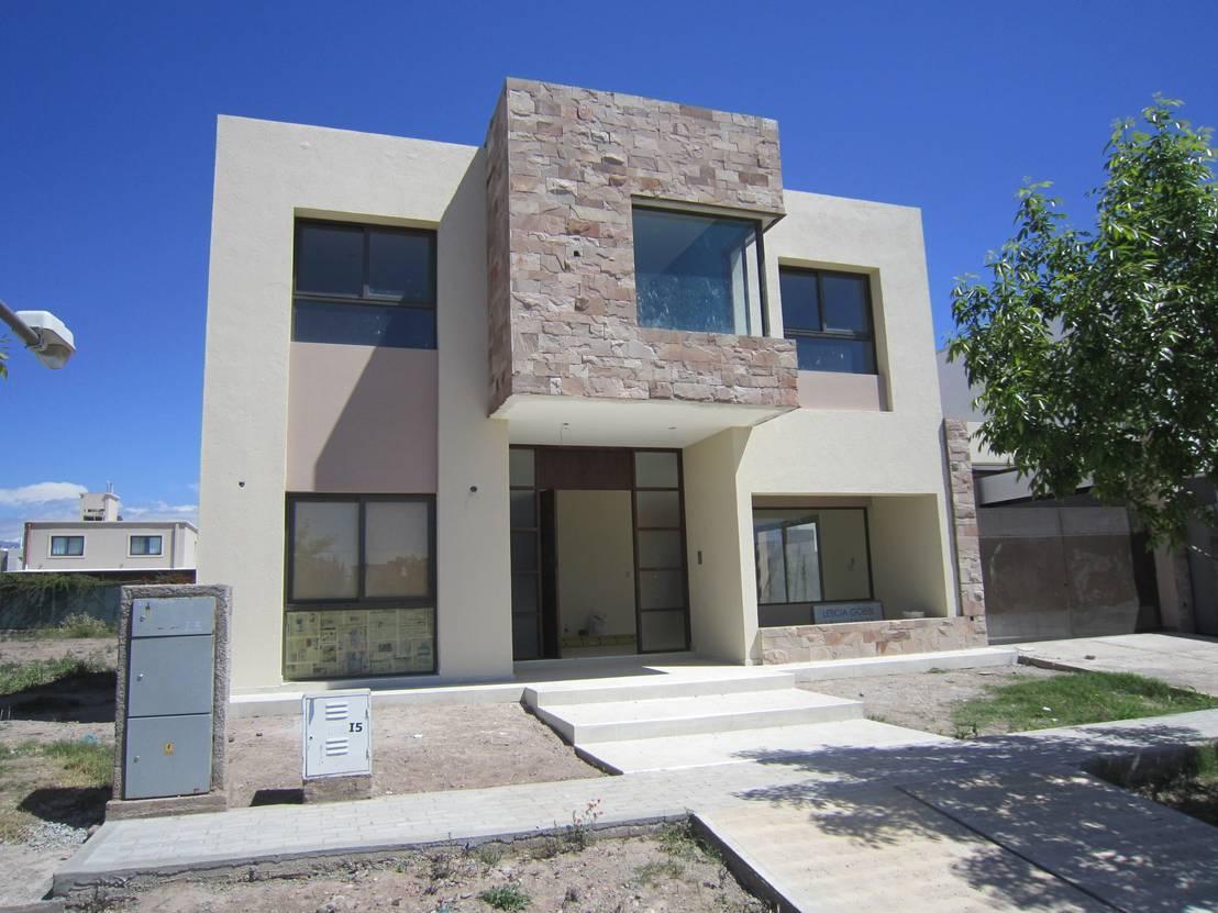 16 ideas para recubrir con piedra la fachada de tu casa - Ideas para fachadas de casas ...