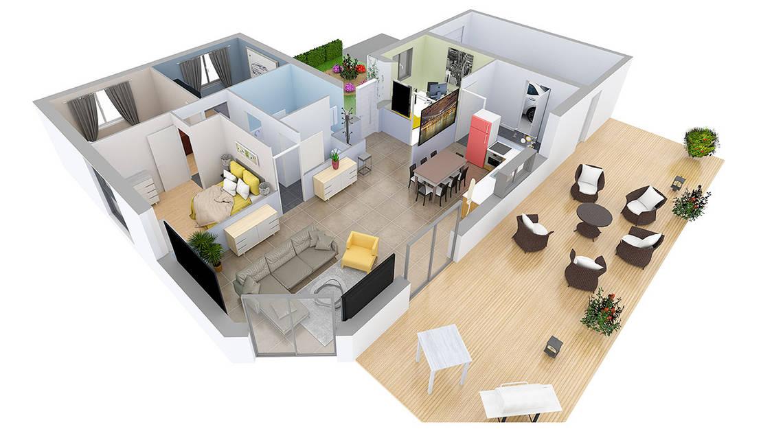 Superb House In 3D Por Space Designer 3D | Homify