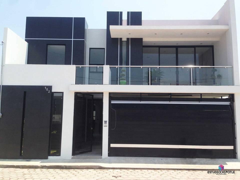 Esta casa moderna surpreendente por fora e por dentro for Modelos de casas minimalistas pequenas