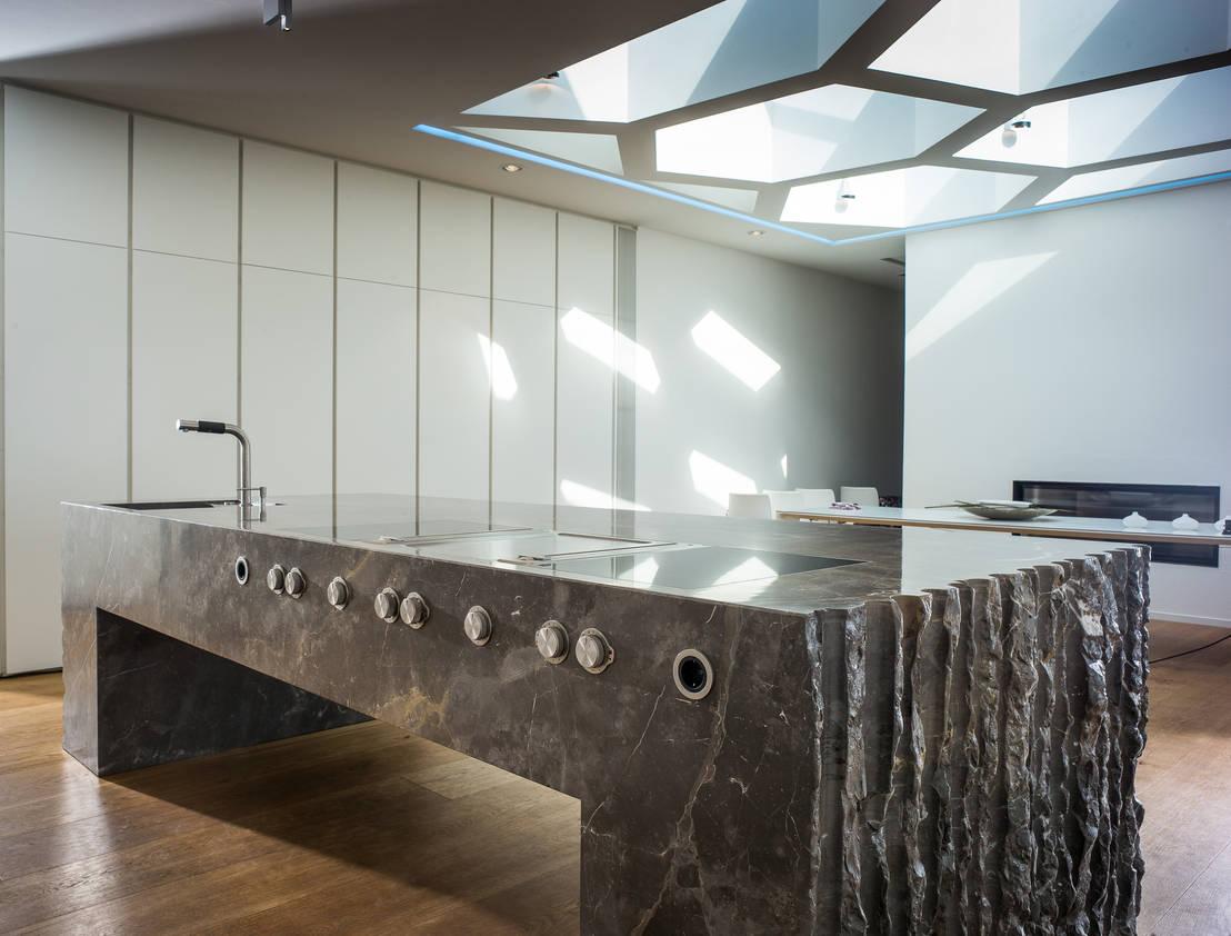 naturstein in der k che de steinwolf natursteinl sungen homify. Black Bedroom Furniture Sets. Home Design Ideas