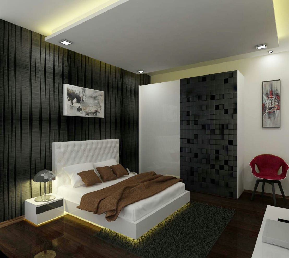 Residence at mumbai by a design studio homify for Bedroom designs mumbai