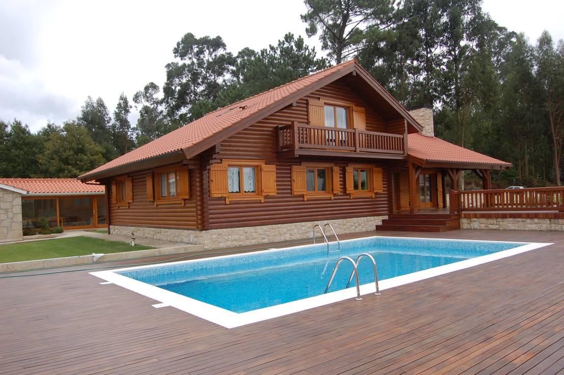 103 casas de madeira de todos os estilos - Casas madera portugal ...