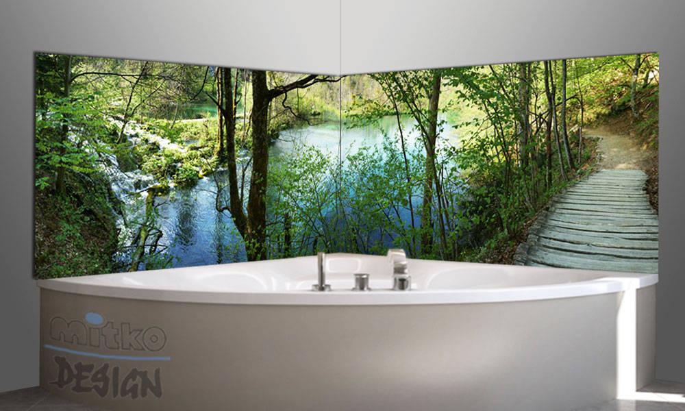 1 glasbilder im bad von mitko design homify. Black Bedroom Furniture Sets. Home Design Ideas