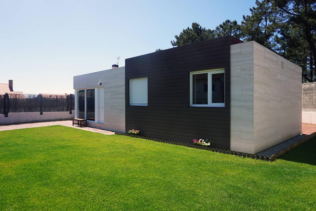 Casa prefabricada cube 75 von casas cube homify - Modulares kochen ...