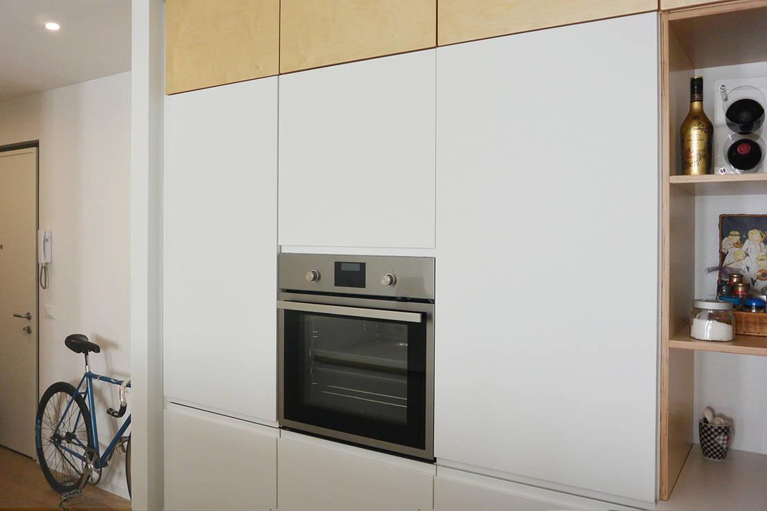 Soggiorno Con Angolo Cottura Ikea appartamento c di studiovert | homify