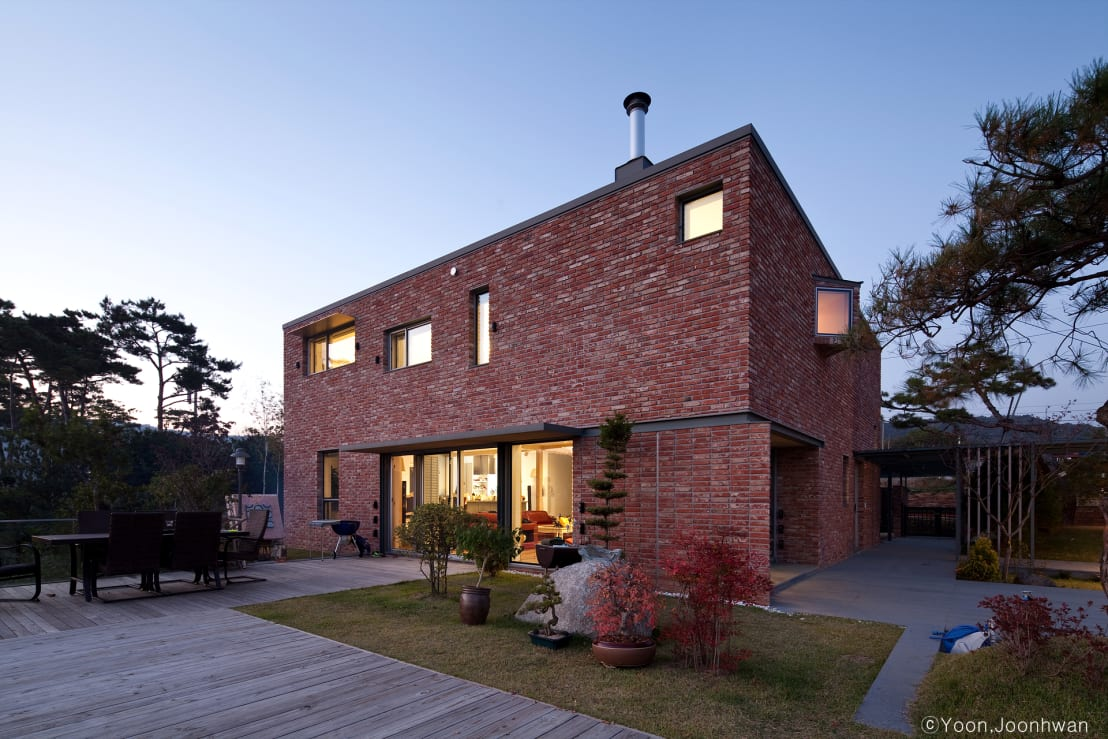 A Modern Red Brick Home With A Difference