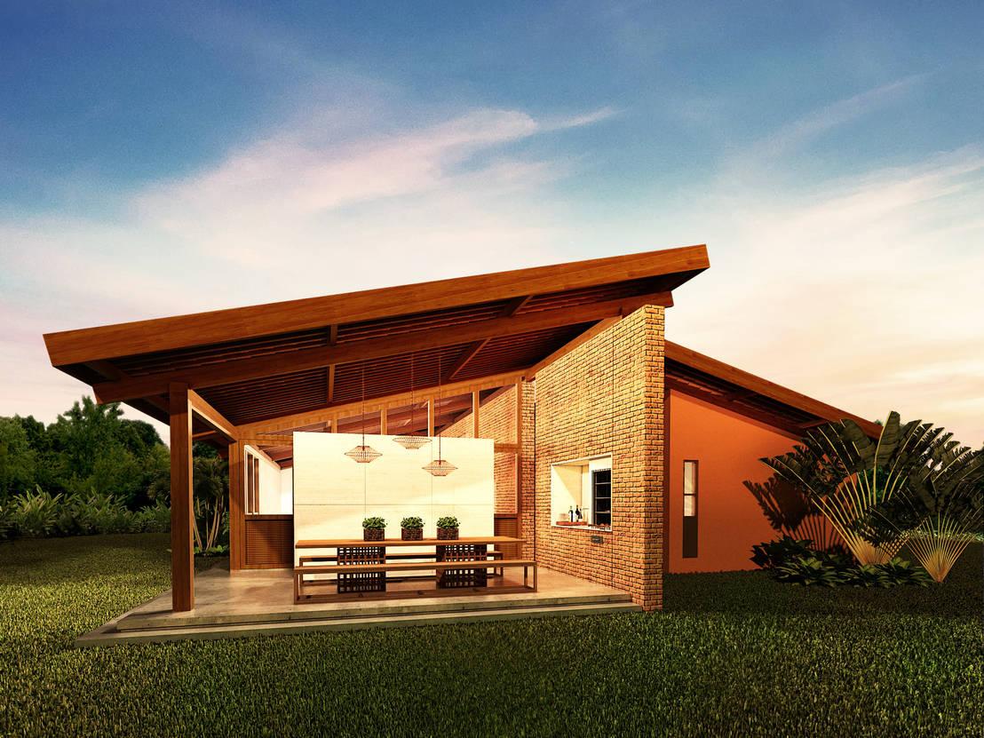 Casa Fazenda Por Beiral Arquitetura E Urbanismo Homify