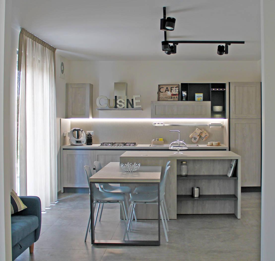 Un vecchio appartamento diventa un 39 abitazione moderna for Abitazione moderna