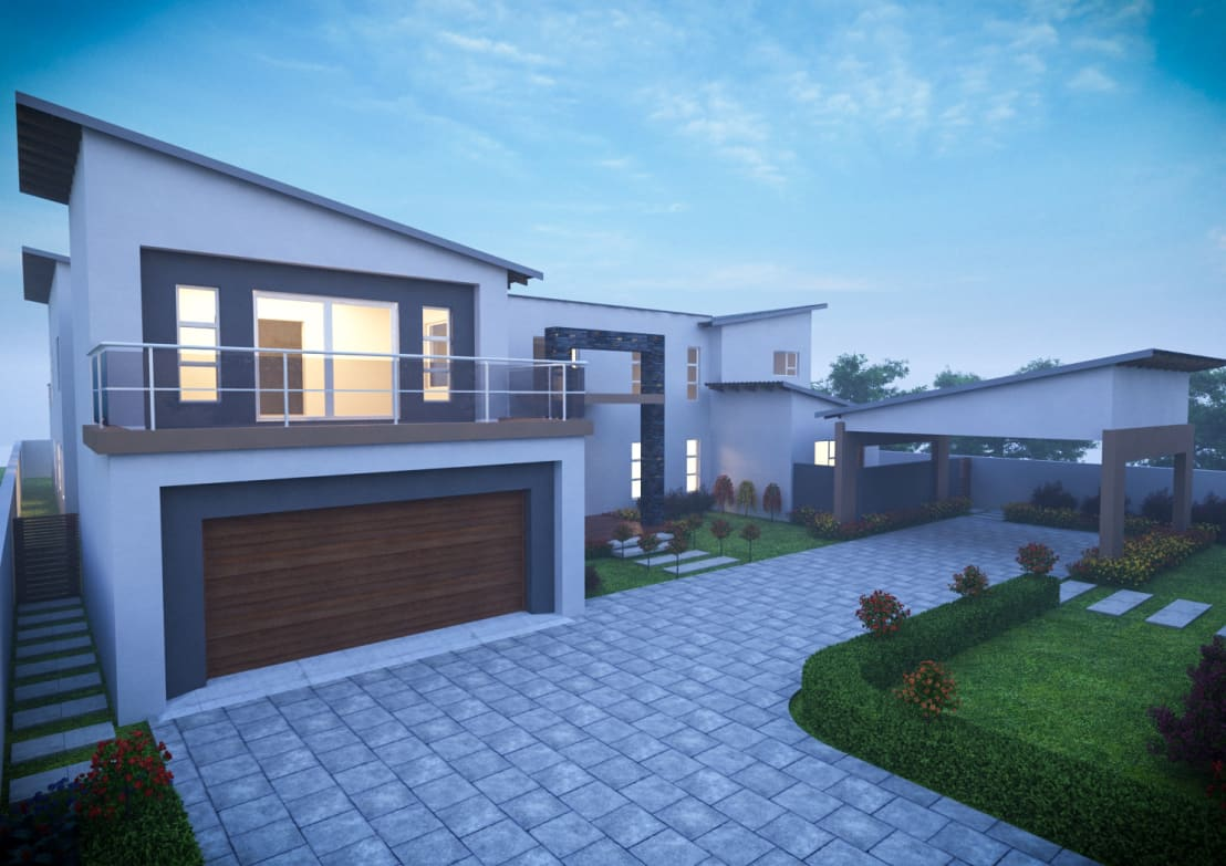 major additions and alterations johannesburg by clearviz designs homify. Black Bedroom Furniture Sets. Home Design Ideas