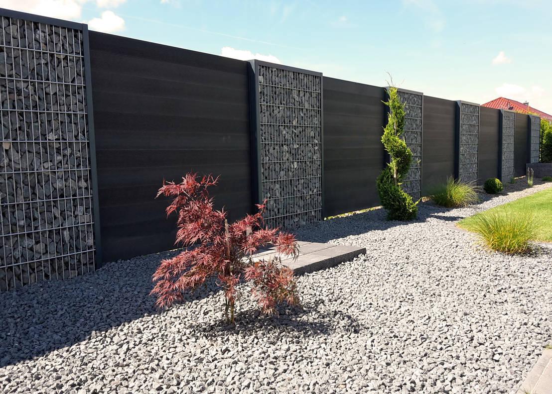 Gabionen Zaunanlagen by Steelmanufaktur Beyer