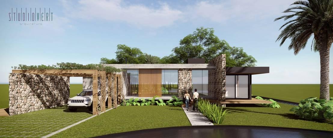 Casa contempor nea em concreto por studio vert arquitetura for Piani casa contemporanea casa