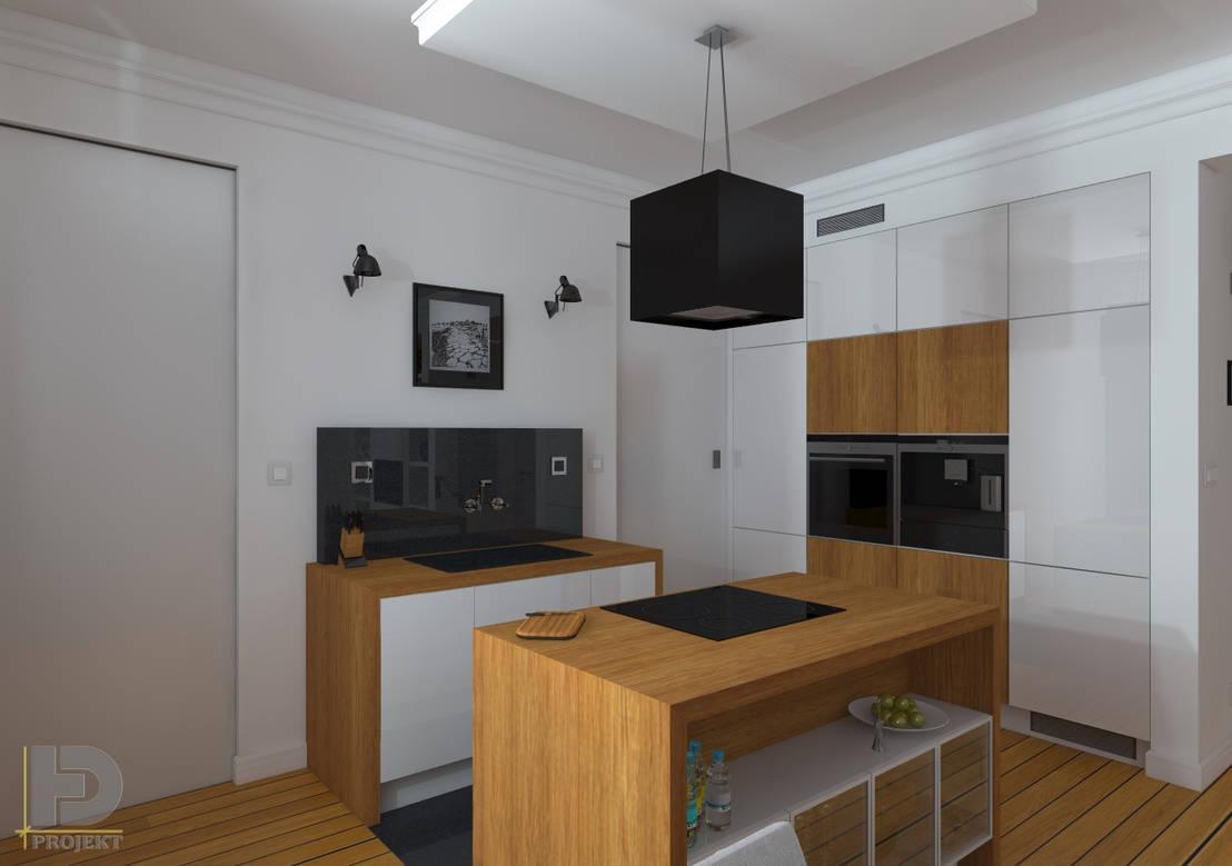 Stara kamienica apartament 60 m2 de hd projekt homify for Muebles de cocina logos