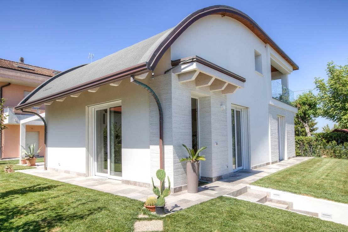 Casa in legno villa paloma di progettolegno srl homify for Case di stile
