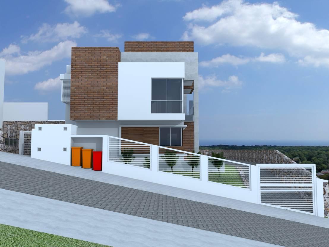 Casas geminadas na carvoeira por cadu martins arquiteto e for Homify casas