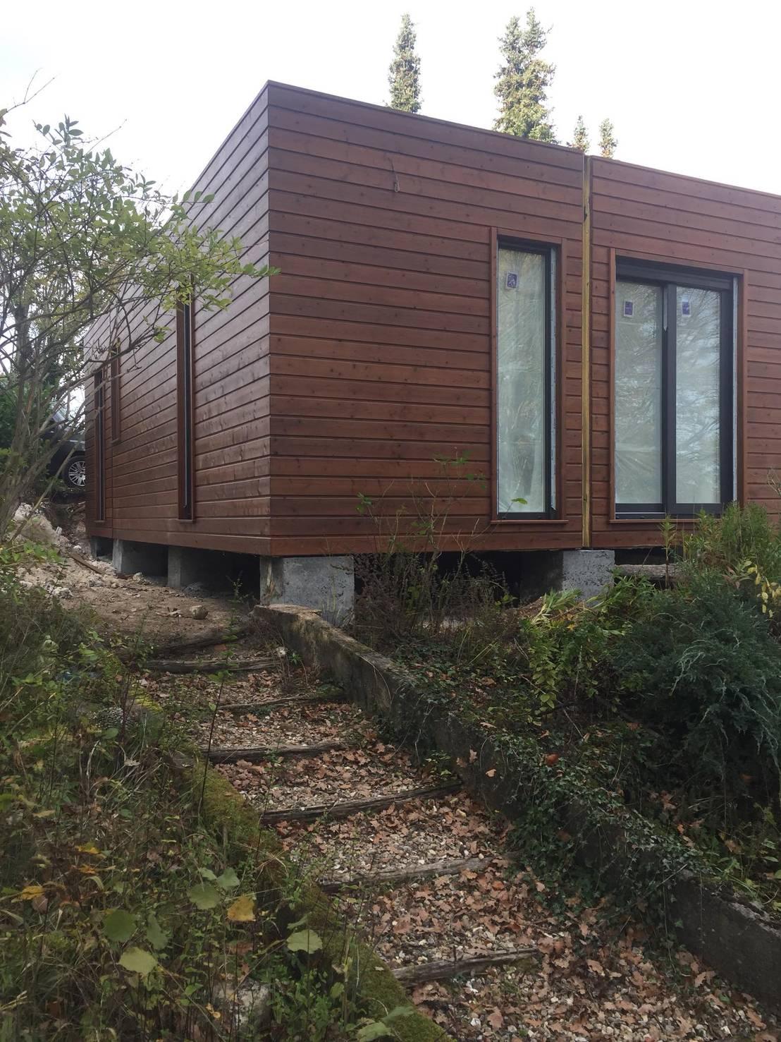 Casa fran a 105m2 por jgds epa casas modulares homify - Ihome casas modulares ...