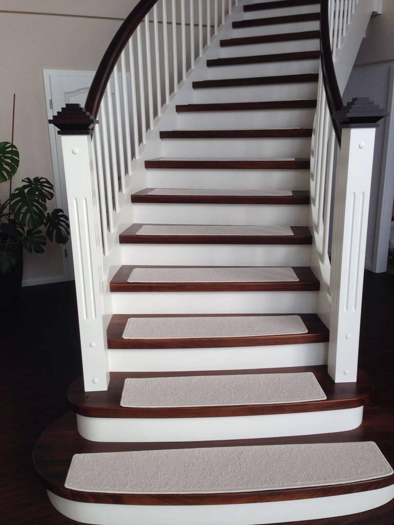 Wunderbar Teppich Treppenstufen Ohne Kleben Dekoration Von