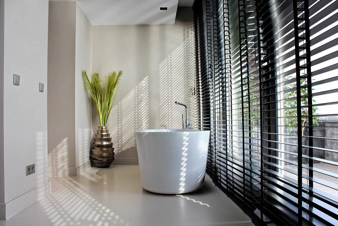 Naadloze Vloer Badkamer : Kunststof gietvloer als basis voor een minimalistisch interieur من